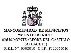 Escudo de MANCOMUNIDAD MONTEIBÉRICO